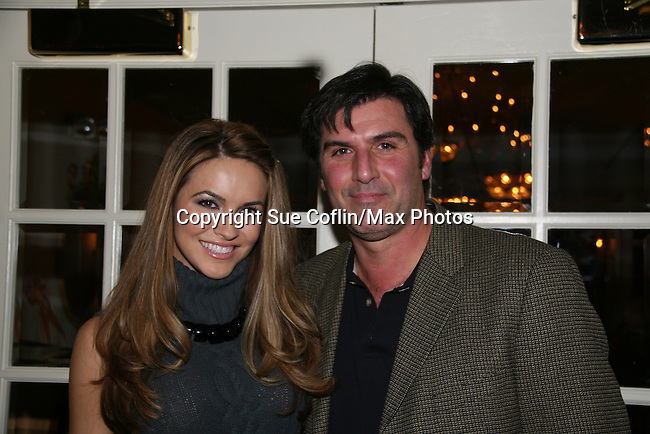 Chrishell Stause & Vincent Irizarry at a benefit for American Lung Association on December 6, 2009 at Mezza on the Green at the Lawrence Country Club. (Photos by Sue Coflin/Max Photos)