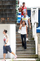 The Situation, Vinny, Ronnie and Sammi pictured during filming on The Jersey Shore Show season six in Seaside Heights, New Jersey on July 5, 2012  &copy; Star Shooter / MediaPunchInc *NORTEPHOTO.COM*<br />