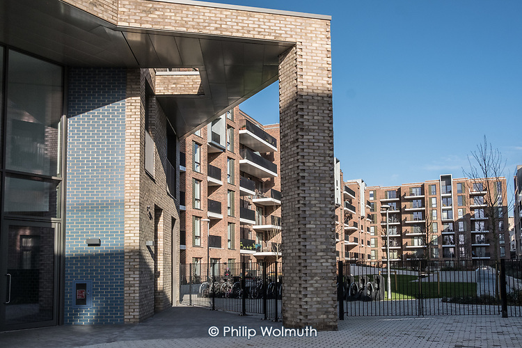 Kilburn Quarter, a mixed tenure development on the site of the former Fielding and Bronte tower blocks.  The completed Phase 2a of Brent Council's South Kilburn Estate regeneration scheme.
