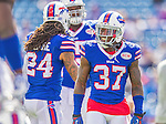 21 September 2014: Buffalo Bills defensive back Nickell Robey smiles prior to facing the San Diego Chargers at Ralph Wilson Stadium in Orchard Park, NY. The Chargers defeated the Bills 22-10 in AFC play. Mandatory Credit: Ed Wolfstein Photo *** RAW (NEF) Image File Available ***