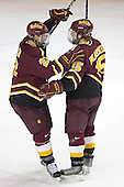 Adam Miller, Zac Pearson - The Ferris State Bulldogs defeated the University of Denver Pioneers 3-2 in the Denver Cup consolation game on Saturday, December 31, 2005, at Magness Arena in Denver, Colorado.
