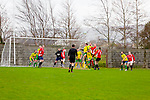 Action at Denny Div 2 'A' Mitchels Avenue  v   Mastergeeha Fc B at Mounthawk Park on Sunday