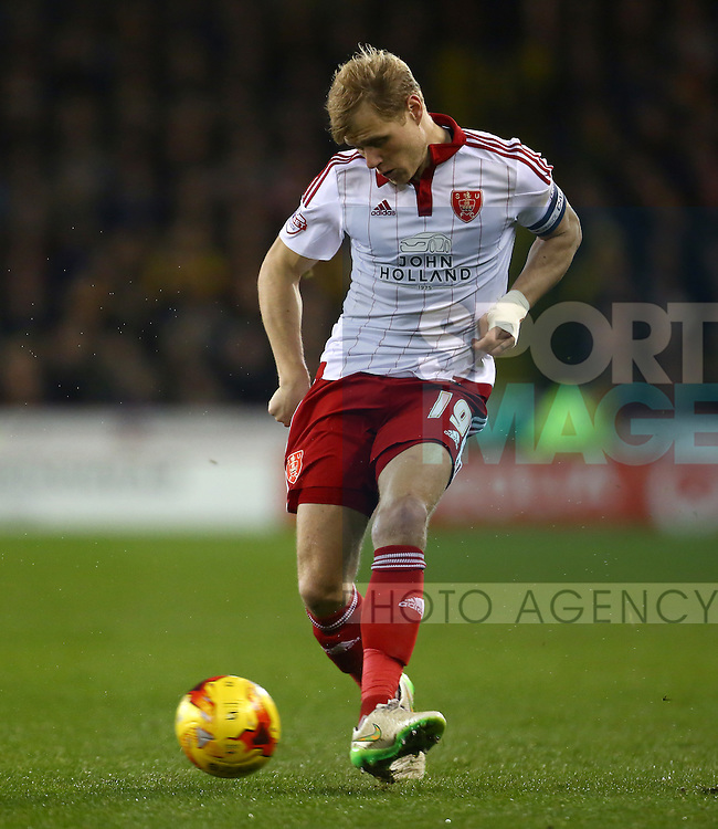 Sheffield United's Jay McEveley - Sheffield United vs Bradford City - Skybet League One - Bramall Lane - Sheffield - 28/12/2015 Pic Philip Oldham/SportImage