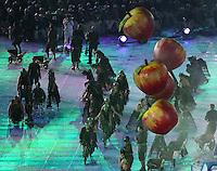 PICTURE BY JOSEPH JOHNSON/photosport.co.nz/SWPIX.COM - 2012 London Paralympic Games - Opening Ceremony - Olympic Stadium, Olympic Park, London, England - 29/08/12.
