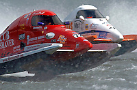 Barry Hawk, #72  and R. J. West, #45 (SST-45 class)