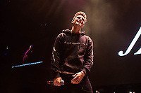 SAN JOSE, CA - DECEMBER 1: Jack Gilinsky of Jack and Jack performs onstage at The SAP Center during the 99.7 Now POPTOPIA in San Jose, California. <br /> CAP/MPI/IS/CT<br /> &copy;CT/IS/MPI/Capital Pictures