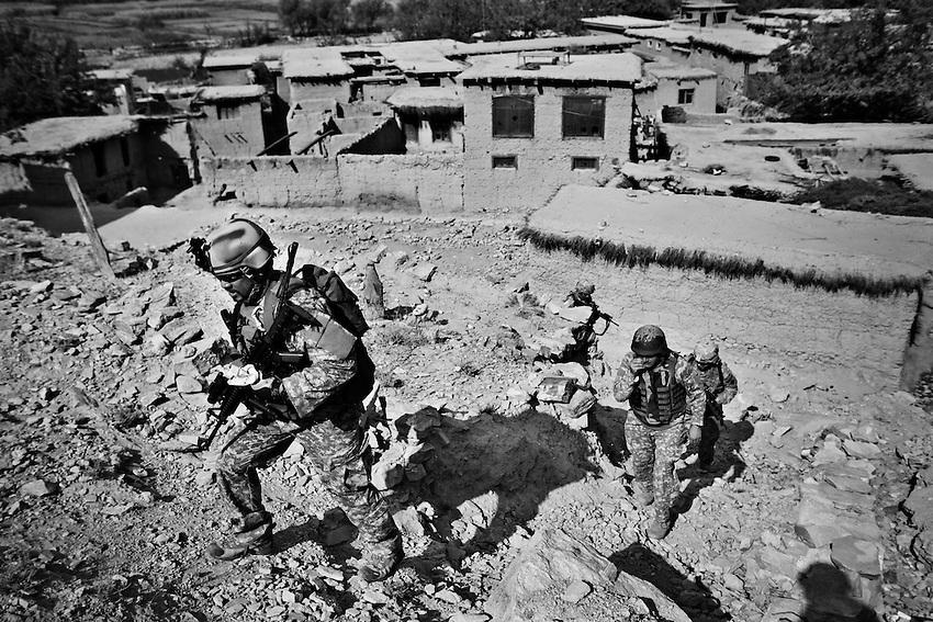 Pesh Valley, Kunar Province, Afghanistan, Sept 26, 2009.