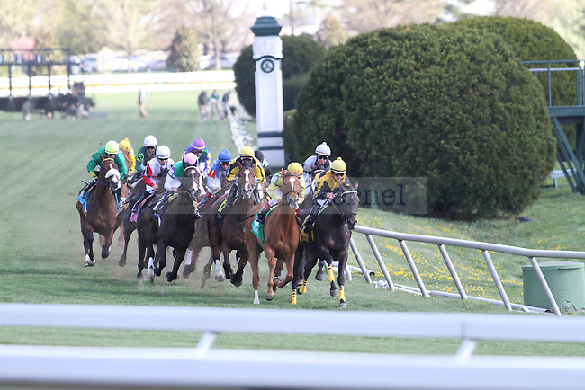 The Kernel photogs go to Keeneland at Keeneland Race Track on Friday, April 9, 2010. Photo by Adam Wolffbrandt | Staff