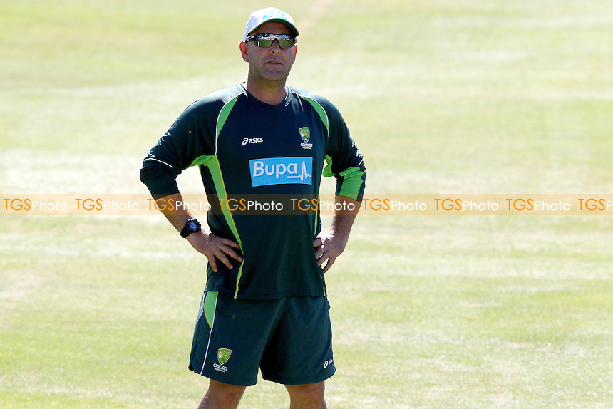 Darren Lehmann of Australia during the coaching sessions - Training Session ahead of Essex CCC vs Australia Tour Match Cricket at the Essex County Ground, Chelmsford, Essex - 30/06/15 - MANDATORY CREDIT: Nick Wood/TGSPHOTO
