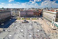 Piaza del Duomo, Vista desde Duomo