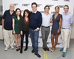 John Tillinger, Talene Monahon, Stockard Channing, Alexi Kaye Campbell, Hugh Dancy, Megalyn Echikunwoke and Daniel Aukin attends the photo call for the Roundabout Theatre Company Production of 'Apologia'  on September 5, 2018 at the Roundabout Rehearsal Studios in New York City.