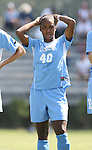 23 September 2007: North Carolina's Nikki Washington. The University of North Carolina Tar Heels defeated the University of San Francisco Dons 2-0 at Koskinen Stadium in Durham, North Carolina in an NCAA Division I Women's Soccer game, and part of the annual Duke Adidas Classic tournament.