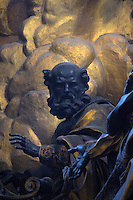 Particular,the Altar of the Chair of Saint Peter by Bernini,Vatican Basilica.