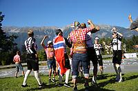 Picture by Alex Whitehead/SWpix.com - 28/09/2018 - Cycling 2018 Road Cycling World Championships Innsbruck-Tiriol, Austria - Mens U23 Road Race - Norwegian cycling fans.