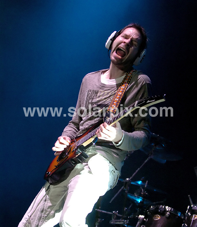 **ALL ROUND PICTURES FROM SOLARPIX.COM**.**WORLDWIDE SYNDICATION RIGHTS**.Paul Gilbert performs live, supporting Joe Satriani, at the Manchester Apollo, Manchester, UK. 15th May 2008..JOB REF: 6453 SGD     DATE: 15_05_2008.**MUST CREDIT SOLARPIX.COM OR DOUBLE FEE WILL BE CHARGED* *UNDER NO CIRCUMSTANCES IS THIS IMAGE TO BE REPRODUCED FOR ANY ONLINE EDITION WITHOUT PRIOR PERMISSION*