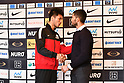 Boxing: Murata and Felice Blandamura attend signing ceremony prior to their world title bout