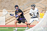 San Diego, CA 05/25/13 - Addison Sherwood (Carlsbad #21) and Andrew Ferguson (Westview #3) in action during the 2013 Boys Lacrosse San Diego CIF DIvision 1 Championship game.  Westview defeated Carlsbad 8-3. in action during the 2013 Boys Lacrosse San Diego CIF DIvision 1 Championship game.  Westview defeated Carlsbad 8-3.