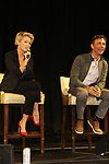 General Hospital's actors - Maura West and James Patrick Stuart on October 5, 2019 at the Hollywood Casino, Columbus, Ohio with a Q & A and a VIP meet and greet. (Photo by Sue Coflin/Max Photo)