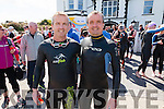 The Egan brothers from Valentia l-r; Colm & David competing in the Valentia Triathlon on Saturday, Colm has competed in all 10 Valentia Triathlon's and David having missed just two completed his 8th Valentia Triathlon on Saturday.