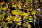 Borussia Dortmund supporters react during the match against Manchester City FC for the 2016 International Champions Cup China match at the Shenzhen Stadium on 28 July 2016 in Shenzhen, China. Photo by Marcio Machado / Power Sport Images
