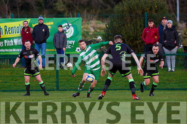 Killarney Celtic vNorth End during their FAI cup clash in Killarney on Sunday.