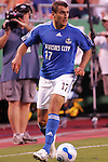 July 1 2007:  Yura Movsisyan (17) of the Wizards.  The MLS Kansas City Wizards tied the visiting Toronto FC 1-1 at Arrowhead Stadium in Kansas City, Missouri, in a regular season league soccer match.