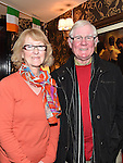 Seamus and Evelyn Daly at Paul McGovern's in Shearman's Bar. Photo:Colin Bell/pressphotos.ie