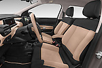 Front seat view of a 2014 Citroen C4 CACTUS Shine Edition Midnight 5 Door Mini Van 2WD Front Seat car photos