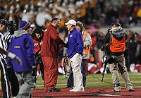 NWA Media/ANDY SHUPE - Arkansas vs. LSU Saturday, Nov. 15, 2014, at Razorback Stadium in Fayetteville.