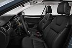 Front seat view of 2017 Skoda Octavia Style 5 Door Wagon Front Seat  car photos