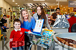 Christopher and Lisa Curran shopping in the Autism friendly Garveys Supervalu pictured with Helen Griffin Garveys.