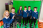 A BOTCH JOB: Students from Causeway Comprehensive were shocked when the gardai rushed to the scene of a robbery in the village where they were filming scenes for their school film on Tuesday night. Pictured were: Emer Forde and Cian Doherty with Triona Curran, Keith O'Connor, Shane Byrne and Niall Cullen.