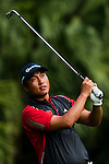 SHENZHEN, CHINA - OCTOBER 30:  Wei Wei of China in action during the day two of Asian Amateur Championship at the Mission Hills Golf Club on October 30, 2009 in Shenzhen, Guangdong, China.  (Photo by Victor Fraile/The Power of Sport Images) *** Local Caption *** Wei Wei