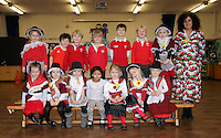 St David's Day, Reception class, at Newton Primary School in Swansea, Wales, UK. Wednesday 01 March 2017