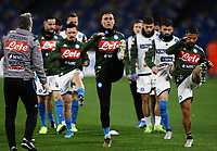 6th January 2020; Stadio San Paolo, Naples, Campania, Italy; Serie A Football, Napoli versus Inter Milan; Jose Maria Callejon of Napoli pre-game warm up - Editorial Use