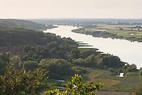 Unterlauf der Elbe im Wendland, Blick von einem Aussichtsturm