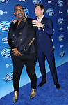 Randy Jackson and Ryan Seacrest at American Idol Premiere Event at Royce Hall, UCLA. Los Angeles, CA. January 9, 2013.