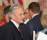 October 27, 2011  (Washington, DC)  Actor Kirk Douglas at the 50th Anniversary Celebration of the Diplomatic Rooms at the State Department in Washington.  Douglas has been a Goodwill Ambassador for the U.S. State Department since 1963.  (Photo by Don Baxter/Media Images International)