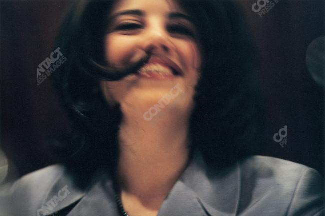 Monica Lewinsky at Morton's Bar, Washington DC, USA, March 1998
