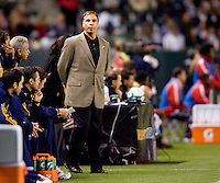 LA Galaxy head coach Bruce Arena. The LA Galaxy and Toronto FC played to a 0-0 draw at Home Depot Center stadium in Carson, California on Saturday May 15, 2010.  .
