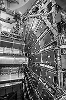 Organizzazione Europea per la Ricerca Nucleare, CERN,  il più grande laboratorio al mondo di fisica delle particelle , Ginevra, Svizzera, ATLAS, A Toroidal Lhc ApparatuS, rivelatore particelle, European Organization for Nuclear Research, CERN, the world's largest laboratory for particle physics in Geneva, Switzerland, ATLAS, A Toroidal LHC Apparatus, particle detector