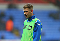 Bolton Wanderers' Josh Vela warming up before the match against Fulham<br /> <br /> Photographer Leila Coker/CameraSport<br /> <br /> The EFL Sky Bet Championship - Bolton Wanderers v Fulham - Saturday 10th February 2018 - Macron Stadium - Bolton<br /> <br /> World Copyright &copy; 2018 CameraSport. All rights reserved. 43 Linden Ave. Countesthorpe. Leicester. England. LE8 5PG - Tel: +44 (0) 116 277 4147 - admin@camerasport.com - www.camerasport.com