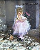 CHILDREN, KINDER, NIÑOS, paintings+++++,USLGSK0002,#K#, EVERYDAY ,Sandra Kock, victorian