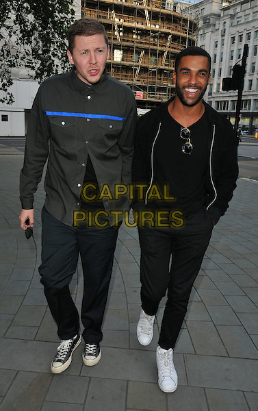 Professor Green ( Stephen Manderson ) &amp; Lucien Laviscount at the STK Ibiza launch party, STK bar &amp; restaurant, The Strand, London, England, UK, on Tuesday 21 June 2016.<br /> CAP/CAN<br /> &copy;CAN/Capital Pictures