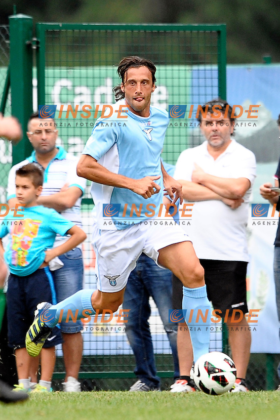 Stefano Mauri Lazio.Auronzo di Cadore 20/7/2012.Football Calcio 2012 / 2013 .Amichevole Friendly Match.SS Lazio Vs Top 11 Calcio Club 103.Foto Insidefoto.