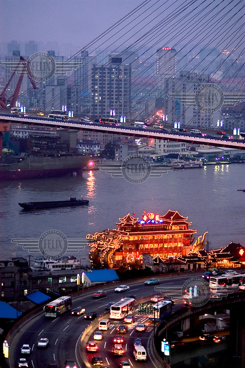 Bridge over the Huang Pu river...