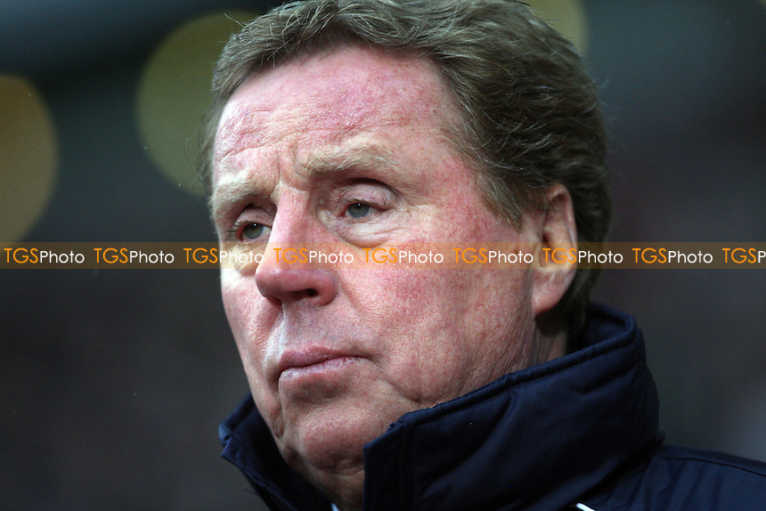 QPR manager Harry Redknapp - West Ham United vs Queens Park Rangers, Barclays Premier League at Upton Park, West Ham - 19/01/13 - MANDATORY CREDIT: Rob Newell/TGSPHOTO - Self billing applies where appropriate - 0845 094 6026 - contact@tgsphoto.co.uk - NO UNPAID USE.