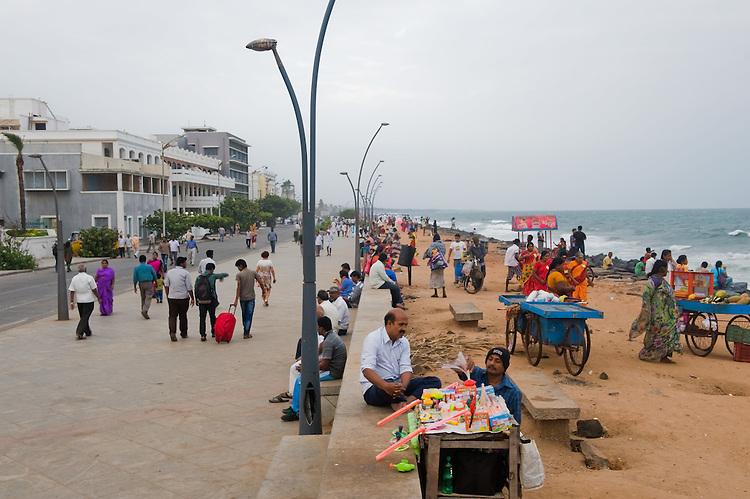 Pondicherry promenade. 2014