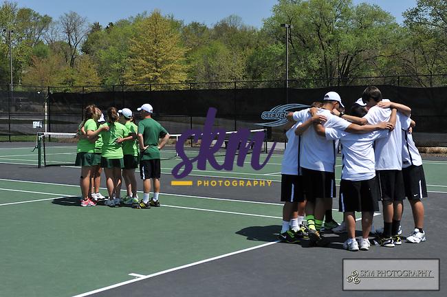 Senior day for Men & Women's Tennis