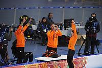 OLYMPICS: SOCHI: Adler Arena, 09-02-2014, 3000 m Ladies, Ireen Wüst wint goud, ©foto Martin de Jong